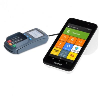 Эвотор 7.3 Банк Visa смарт-терминал без ФН, пинпад PAX SP30