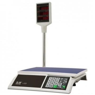 Меркурий M-ER 326ACР-32.5 LЕD весы электр. со стойкой