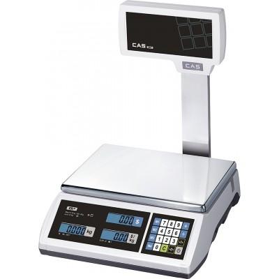 Торговые весы CAS ER JR-30CBU электронные со стойкой