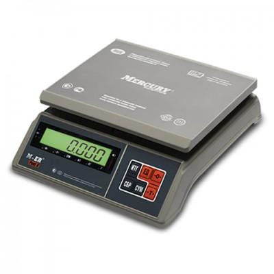 Меркурий M-ER 326AFU-15.1 LCD/LED до 15кг фасовочные весы