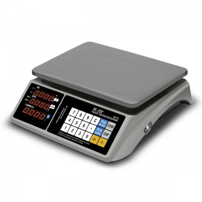 """Настольные весы M-ER 328 AC-15.2/32.5 """"TOUCH-M"""" LED RS232/USB"""